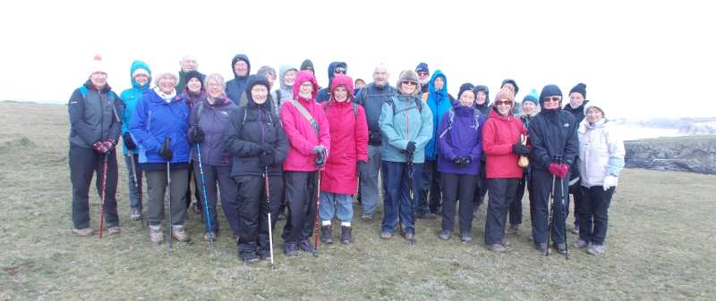 Walking Group on SW Coast path